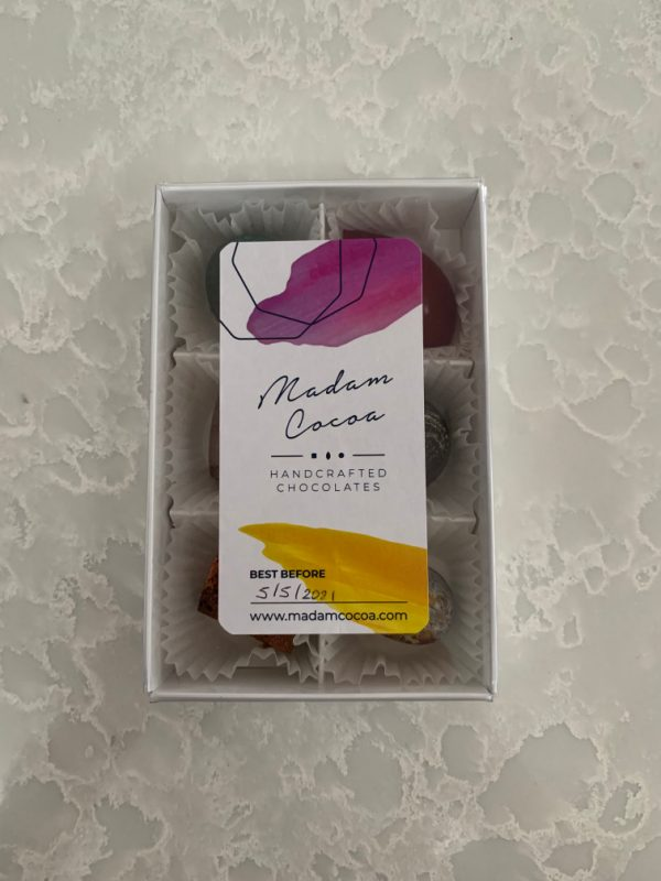 Madam Cocoa Handcrafted Chocolates - 6 Pack