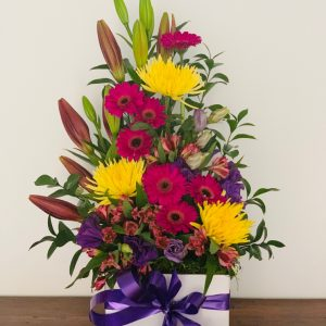 Tall Standing Flower Box