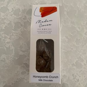 Madam Cocoa 10 Pack Snackables Milk Chocolate Honeycomb Crunch