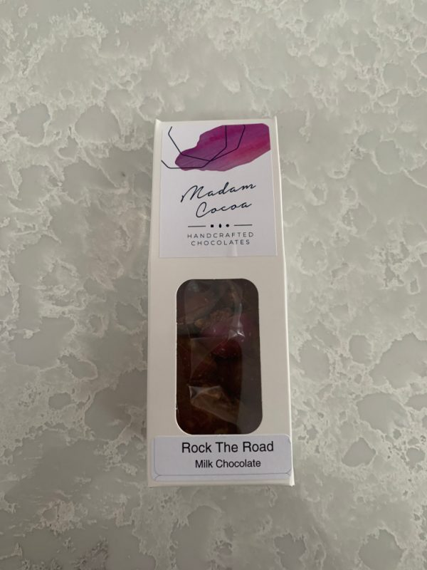Madam Cocoa 10 Pack Snackables Milk Chocolate Rock The Road