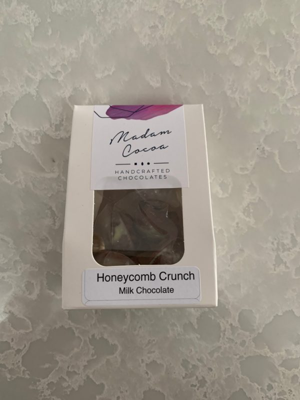 Madam Cocoa 5 Pack Snackables Milk Chocolate Honeycomb Crunch