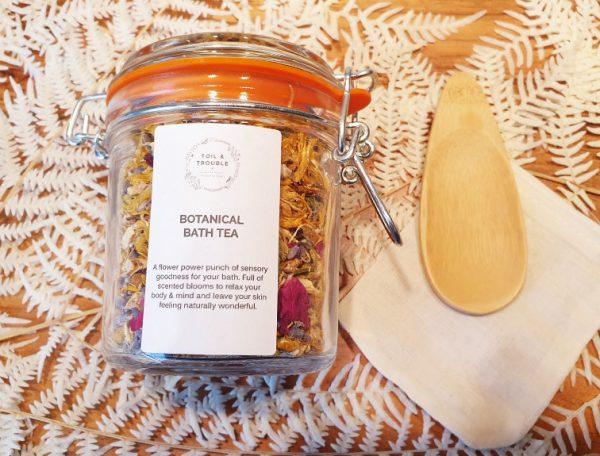 Bath Tea Jar with Scoop