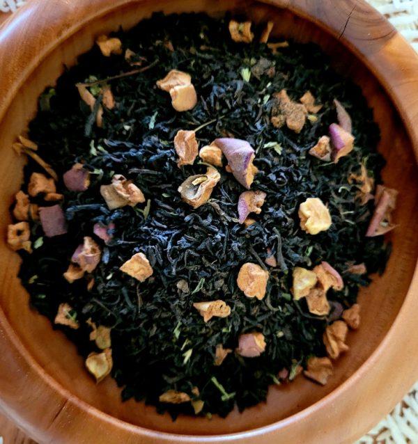 Black Apple (Apple Pie) Organic Tea Blend