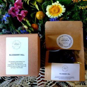 Blueberry Hill tea single use