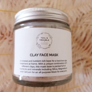 Clay Face Mask Single Jar