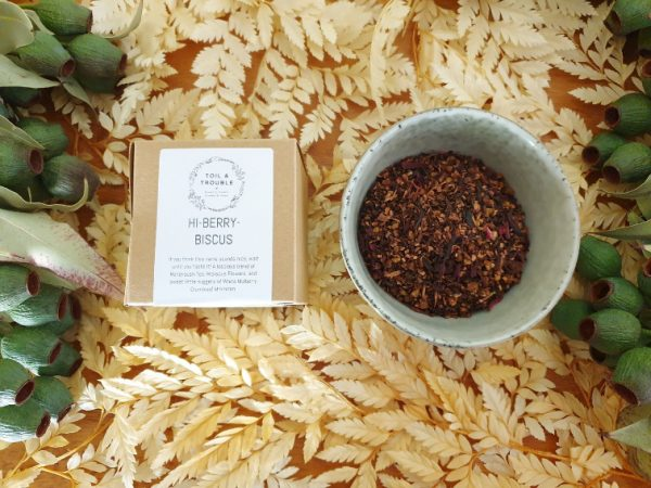 Hi-Berry-Biscus tea single use
