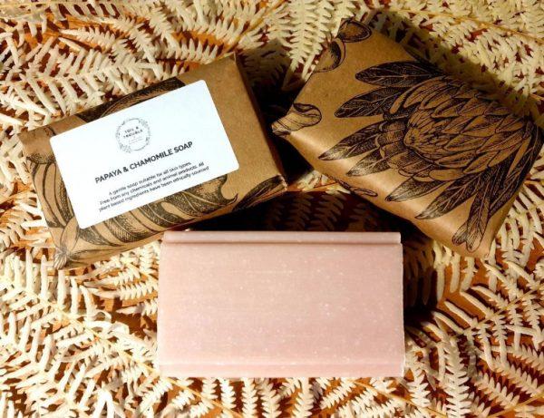 Papaya and Chamomile Soap