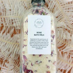 Rose Bath Milk