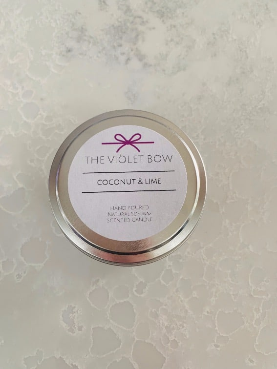 Candle Coconut and Lime