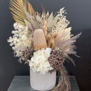 Extra Large Neutral Dried Flower Arrangement